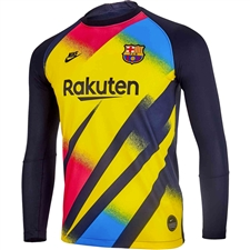 Nike FC Barcelona Goalkeeper Jersey '19-'20 (Tour Yellow/Black)