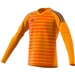 Adidas Youth AdiPro 18 Goalkeeper Jersey (Lucky Orange/Unity Ink)