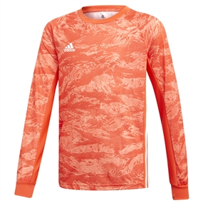 Adidas Youth AdiPro 19 Goalkeeper Jersey (Semi Solar Red)