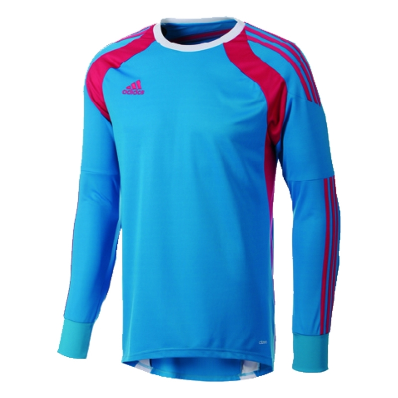more photos f61bf 9815f Adidas Youth Onore 14 Goalkeeper Jersey (Solar Blue/Vivid Berry/White)