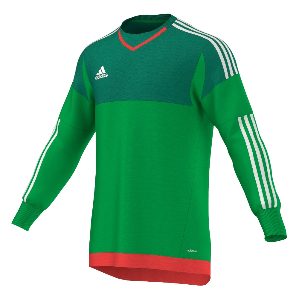 Adidas Youth Top 15 Goalkeeper Jersey (Green Bright Green White ... b8ce11cf3