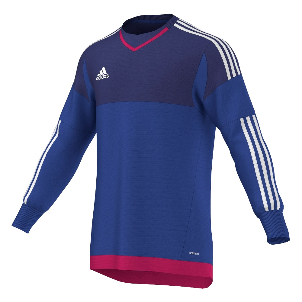 2485bd9351f Adidas Youth Top 15 Goalkeeper Jersey (Bold Blue/Amazon Purple/White ...