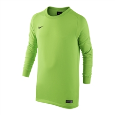 Nike Youth Park II Long Sleeve Goalkeeper Jersey (Electric Green/Black)