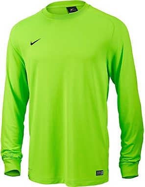 Nike Park II Long Sleeve Goalkeeper Jersey (Electric Green Black ... 161ce5f74