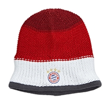 Adidas Bayern Munich '15-'16 Beanie (Craft Red/FCB True Red/White)