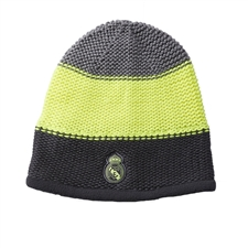 Adidas Real Madrid '15-'16 Beanie (Grey/Solar Yellow/Deepest Space)