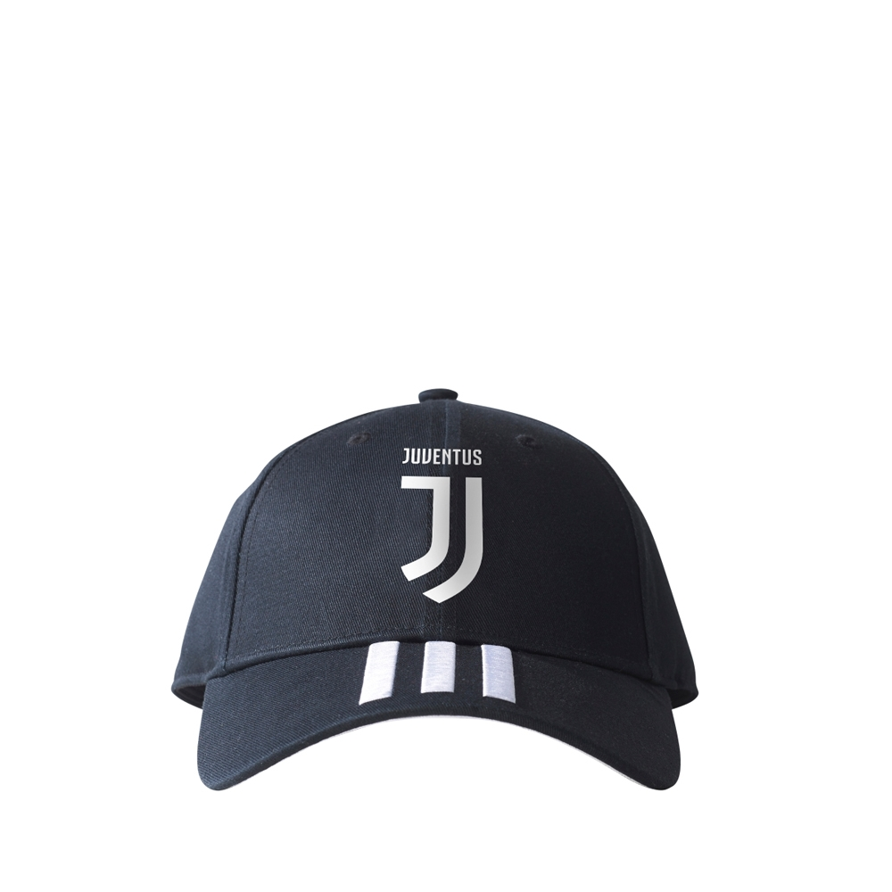 951e635657 Adidas Juventus Home 3-Stripes Hat (Black/White)