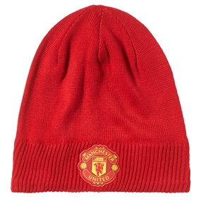 Adidas Manchester United '16-'17 Beanie (Real Red/Power Red)