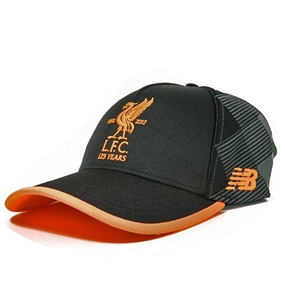 New Balance Liverpool Anniversary Cap (Black/Orange)