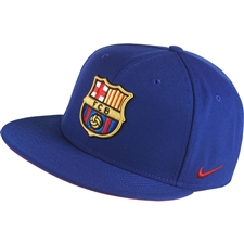 Nike FC Barcelona Core Cap (Deep Royal Blue/Noble Red/Noble Red)