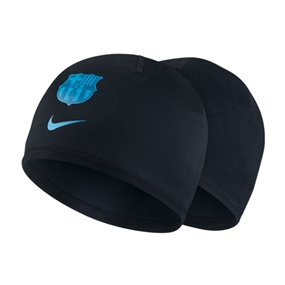 Nike FC Barcelona Revolution Training Soccer Beanie (Black)