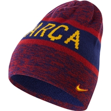 Nike FC Barcelona Reversible Training Beanie (Loyal Blue/Storm Red/University Gold)