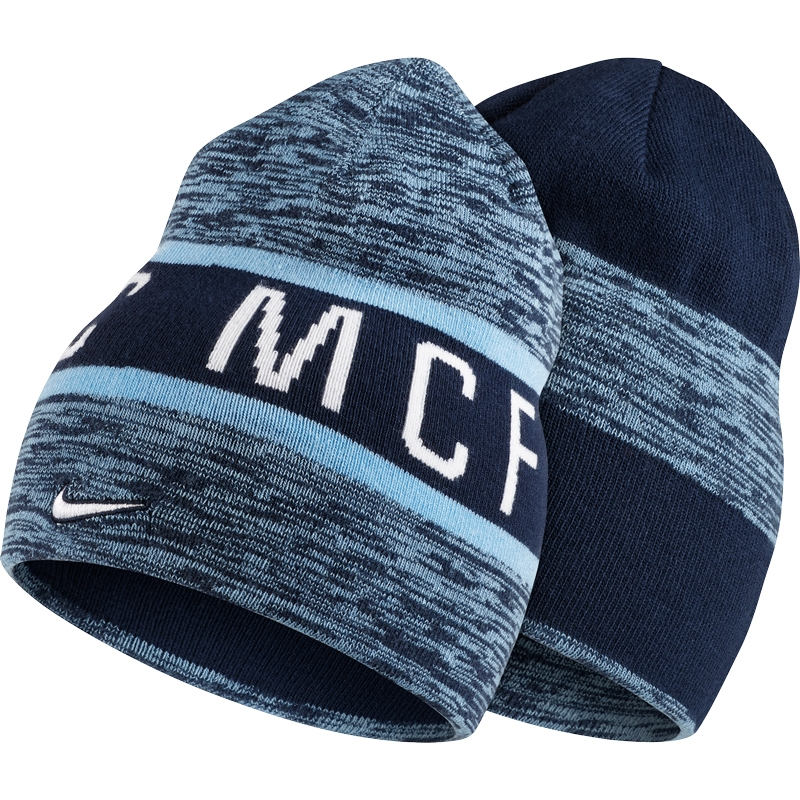 3979a00a29642 Nike Manchester City FC Reversible Training Beanie (Field Blue Midnight Navy White)