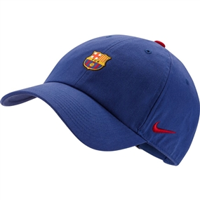 Nike FC Barcelona Heritage 86 Cap (Deep Royal Blue/Noble Red/Noble Red)