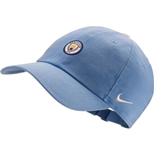 Nike Manchester City FC Heritage 86 Cap (Field Blue/White)