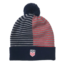free shipping 9bac2 b14d6 ... Nike USA Beanie (Midnight Navy Speed Red) ...