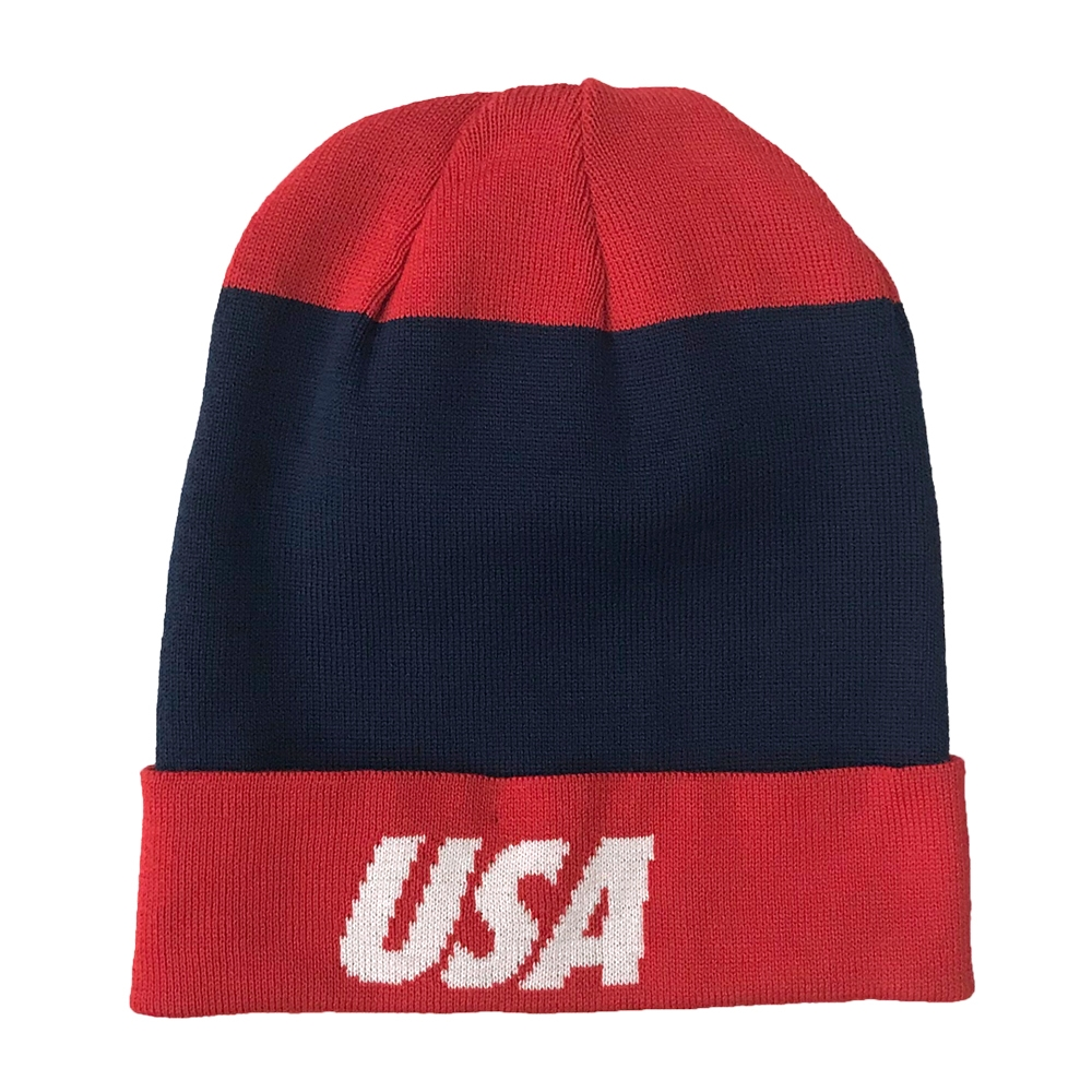 Nike Dry USA Beanie (Midnight Navy Speed Red White)  67be374a44a
