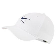 Nike USA Heritage 86 Hat (White/Blue Void)