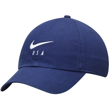 Nike USA Heritage 86 Hat (Blue Void/White)