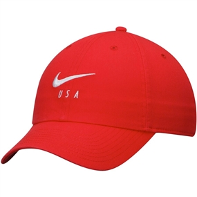 Nike USA Heritage 86 Hat (University Red/White)