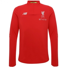 New Balance Liverpool FC Elite Mid Layer Training Top (Racing Red)