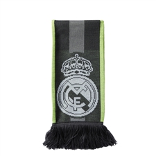 Adidas Real Madrid '15-'16 Scarf (Deepest Space/Grey/Solar Yellow)
