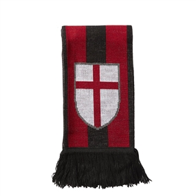 Adidas A.C. Milan '15-'16 Scarf (Victory Red/Black/Granite)