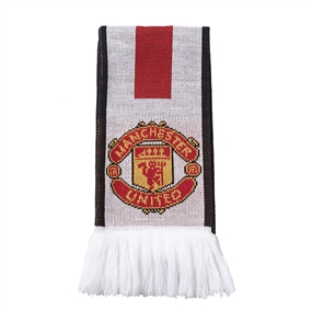 Adidas Manchester United '15-'16 Scarf (White/Red/Black)
