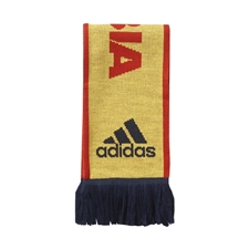 Adidas Colombia 3-Stripes Scarf (Bright Yellow)