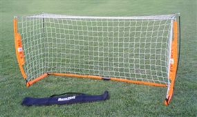 Bownet 4' x 8' Portable Soccer Goal (Orange/White)
