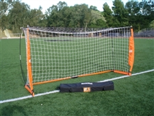 Bownet 5' x 10' Portable Soccer Goal (Orange/White)
