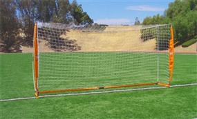 Bownet 7' x 14' Portable Soccer Goal (Orange/White)