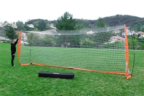 Bownet 8ft x 24ft Soccer Goal (Orange/White)