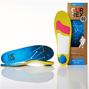 Currex CleatPro Insole - High Arch (Blue)