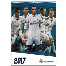 2017 Danilo Real Madrid Calendar