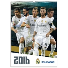 Real Madrid 2016 Calendar