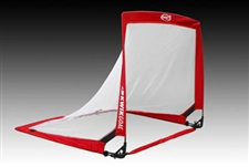 Kwik Goal Infinity Squared Weighted Pop-Up Soccer Goal (Red/White)