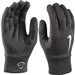 Nike Hyperwarm Youth Field Player Soccer Gloves (Black Heather/White)