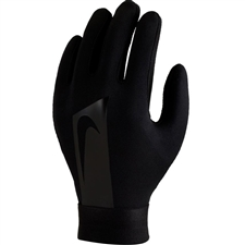 Nike Youth Hyperwarm Academy Field Player Soccer Gloves (Black)