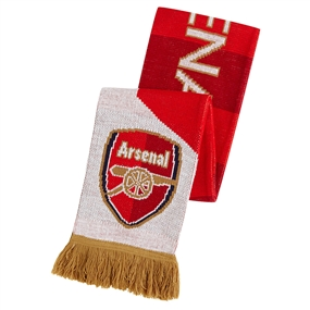 Puma Arsenal Fan Scarf (High Risk Red/White/Gold)