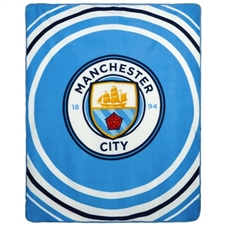 Manchester City FC Plush Blanket