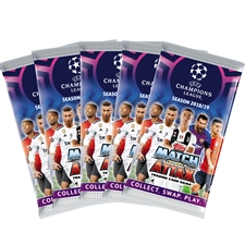 Topps 2018/19 UEFA Champions League Match Attax 5 Pack