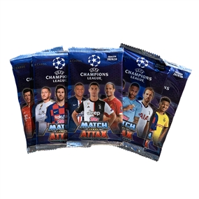 Topps 2019/20 UEFA Champions League Match Attax 5 Pack