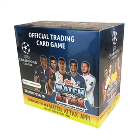 Topps 2019/20 UEFA Champions League Match Attax Hobby Box