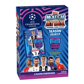 Topps 2018/19 UEFA Champions League Match Attax Starter Box