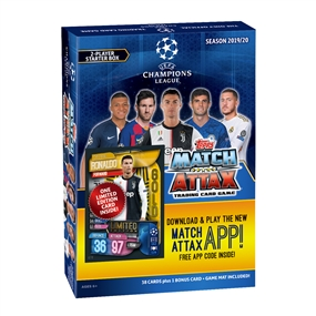 Topps 2019/20 UEFA Champions League Match Attax Starter Box
