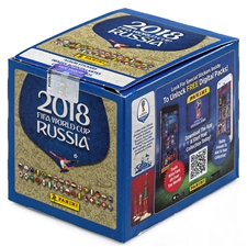 Panini 2018 FIFA World Cup Sticker Box (50 Pack)