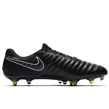 Nike Tiempo Legend VII Elite SG-Pro (ACT) Soccer Cleats (Black/Total Orange/White)