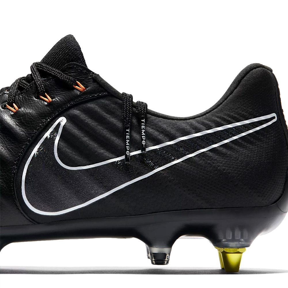164cf3c4a Nike Tiempo Legend VII Elite SG-Pro (ACT) Soccer Cleats (Black Total ...
