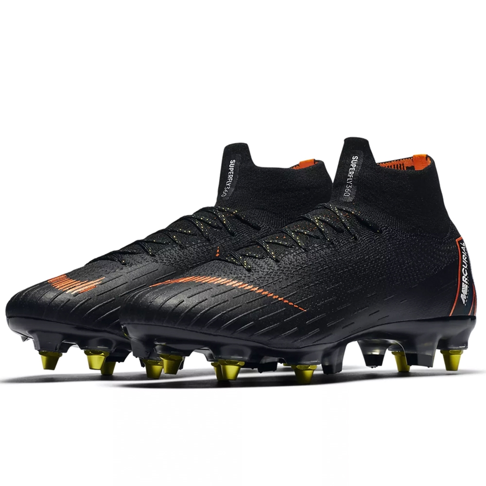 6c664cdf804 Nike Mercurial Superfly VI Elite SG-Pro Soccer Cleats (Black Total ...